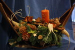 Adventsgestecke  Muster